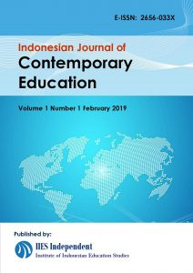Indonesian Journal of Contemporary Education (IJCE)
